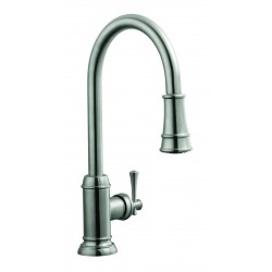 Design House 524702 Ironwood Kitchen Faucet with Pullout Sprayer