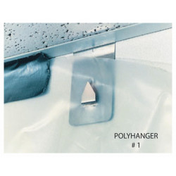 Poly-Hangers HANGER Support Poly Sheeting for Temporary Protection Systems