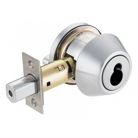 Cal-Royal CRB Series Grade 1 Deadbolt with Schlage Large Format Interchangeable Core