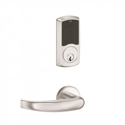 Schlage Commercial LE Series Wireless Lock - Greenwich Mortise / Mortise Deadbolt Electronic Security Lock