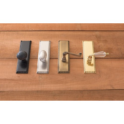 Brass Accents D05-568 Egg & Dart Collection Door Set