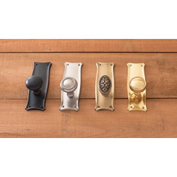 Brass Accents D07-K358 Manhattan Collection Door Set