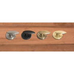Brass Accents D07-L150X Salem Low-Profile Collection, Self Aligning Mount