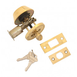 Brass Accents D09-D1510 Deadbolt