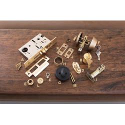 Brass Accents D09-C Door Lock Accessories