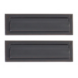 Brass Accents A07-M0010 Door Mail Slot