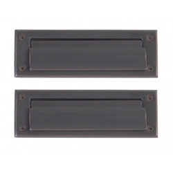 Brass Accents A07-M0050 Door Mail Slot
