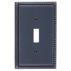 Brass Accents M06-S85 Georgian Switch Plates