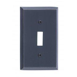 Brass Accents M07-S45 Quaker Switch Plates