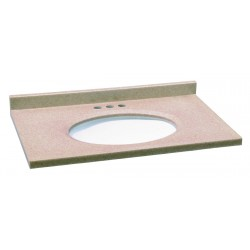 Design House Aurora Solid Surface Vanity Top with Bowl from the Aurora Collection