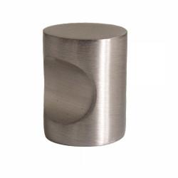 Design House 205112 Single Barrel Knob, Finish- Brushed Nickel
