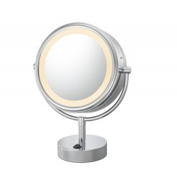 Kimball & Young Lighted Neo Modern LED Vanity Mirror - 6 ft. Power Cord