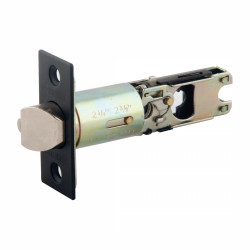 Design House Latch Entry Square, Oil Rubbed Bronze Finish