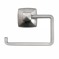 Design House Perth Toilet Paper Holder, Satin Nickel Finish