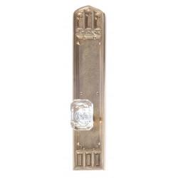 """Brass Accents D04-K584 Oxford Door Set - Exterior 3 3/8"""" x 18"""""""