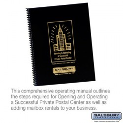 Salsbury Private Postal Center Operating Manual