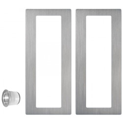 Jako W4020 Solid Stainless Steel Sliding Door Pull