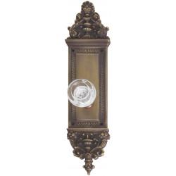 """Brass Accents D04-K522 Apollo Door Set - 3 5/8"""" X 14 3/4"""""""