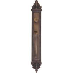 """Brass Accents D04-H524 Apollo Door Set - 3 5/8"""" X 25 1/2"""""""