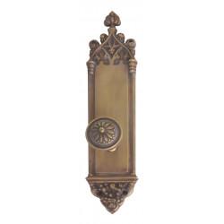 "Brass Accents D04-K560 Gothic Door Set - Interior 3 3/8"" X 16"""