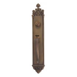 """Brass Accents D04-H564 Gothic Door Set - Exterior 3 3/8"""" X 23 3/4"""""""