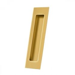"Deltana FP7178 Flush Pull, Rectangular, HD, 7"" x 1-7/8"" x 3/8"", Solid Brass"