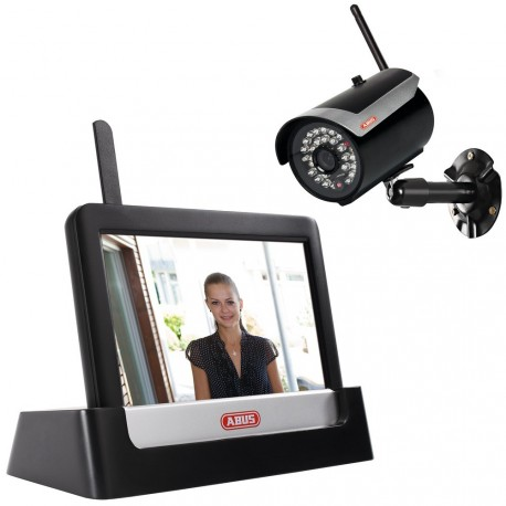 "Abus TVAC16000C 7"" Home Surveillance Touch Screen Set"