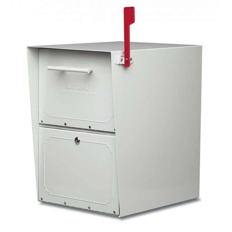 Architectural Mailboxes 5100 Oasis Locking Post Mount Mailbox