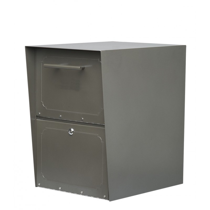Architectural Mailboxes 5103 Oasis Locking Post Mount Drop Box
