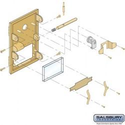 Salsbury Bolt - for Brass Mailbox 1 Door