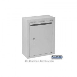 Salsbury Letter Box (Includes Commercial Lock)