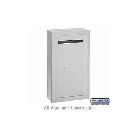 Salsbury Letter Box (Includes Commercial Lock) - Slim