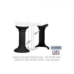Salsbury Regency Decorative Pedestal Cover - Tall