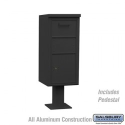 Salsbury Pedestal Collection Box (Includes Pedestal and Master Commercial Lock) - Regular