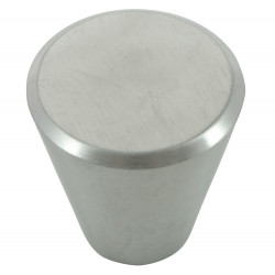 MNG Hardware 88905 Brickell Stainless Steel Cone Knob