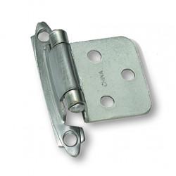 Laurey 59900 Series Flush Hinge - Brushed Satin Nickel- 6 Pair
