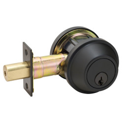 Master Lock DSC Grade 2 Single Cylinder Oil Rubbed Bronze Heavy Duty Deadbolt