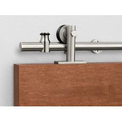 Pemko W80 Sliding Track Hardware System, Stainless Steel