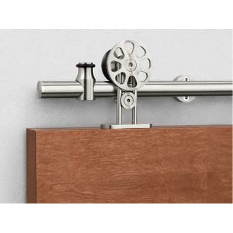 Pemko W90 Sliding Track Hardware System, Stainless Steel