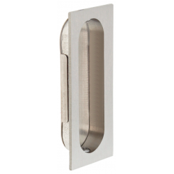 Cal-Royal FP3000 Solid Brass Rectangular Flush Pull w/ Optional Snap-In Plate