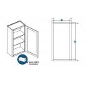 KCD Taylor Single Door Wall Cabinet