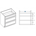 KCD Taylor Drawer Base Cabinet