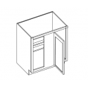 KCD Taylor Blind Base Cabinet with Drawer Box Upgrade