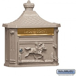 Salsbury Victorian Mailbox - Surface Mounted