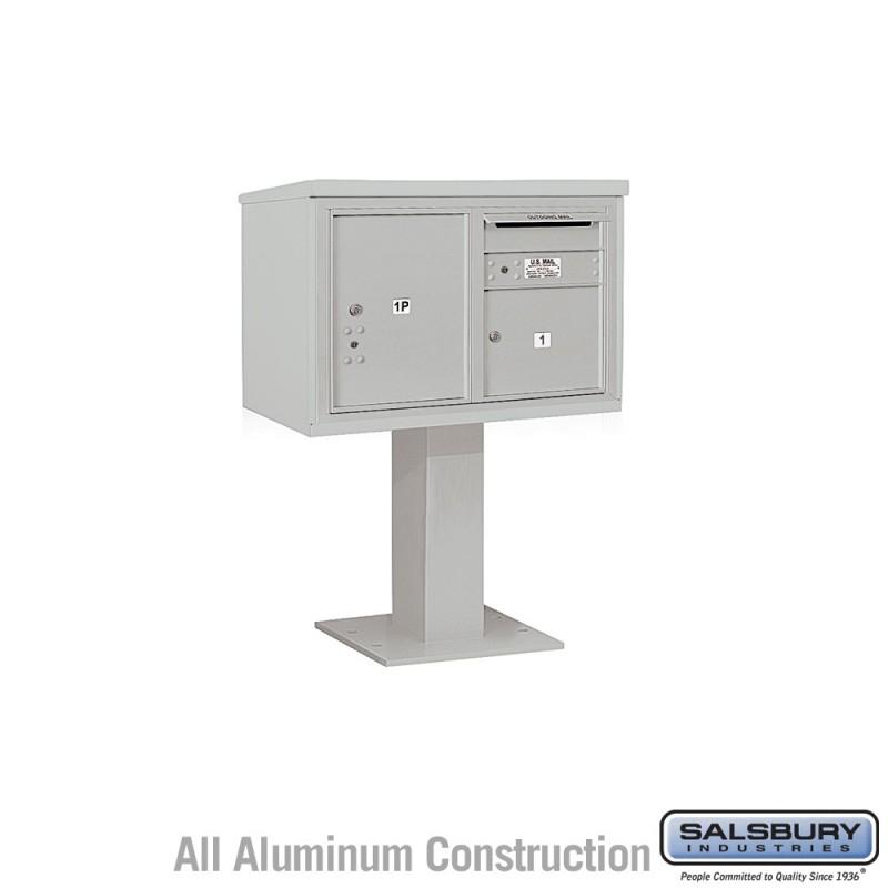 Salsbury 4c Pedestal Mailbox Includes 26 Inch High