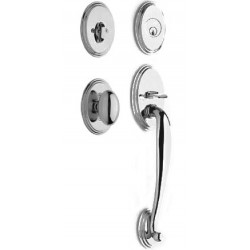 Yale DH Acclaim Designer Handleset with Ellipse interior