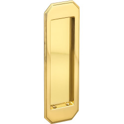 Omnia 7039 Traditional Flush Pull – Solid Brass