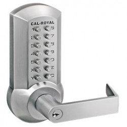 Cal-Royal CRCODE204 Series Push Button Exit Trim for 2200, 7700 & 9800 Series Exit Devices