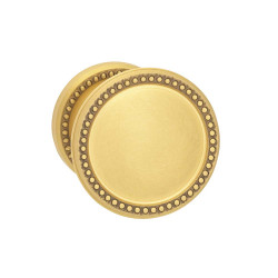 Omnia 508BD50 Interior Traditional Knob Latchset – Solid Brass