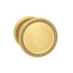 Omnia 508BD50 Interior Traditional Knob Latchset – Solid Brass